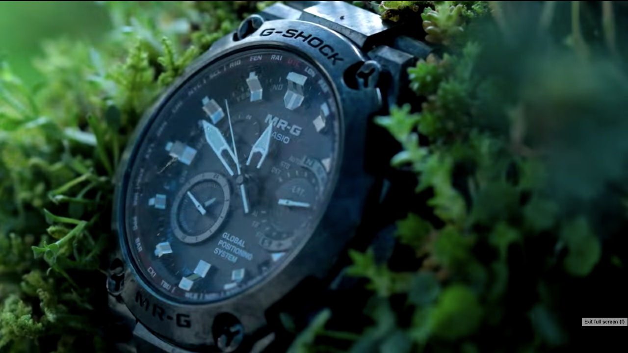Example of Casio Japanese advertising style