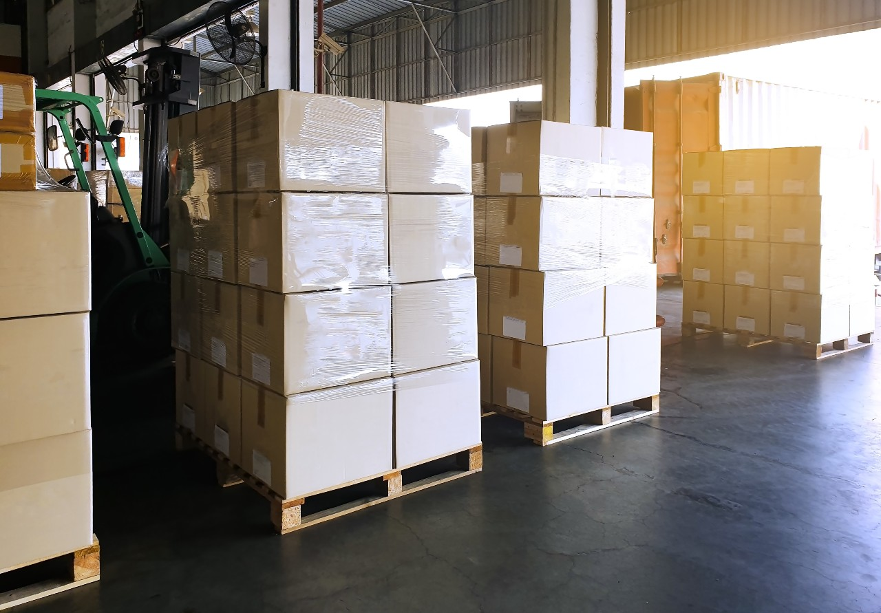 Example Japanese warehouse for ecommerce logistics in Japan