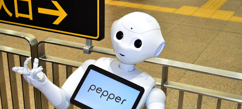 Pepper Japanese translation robot