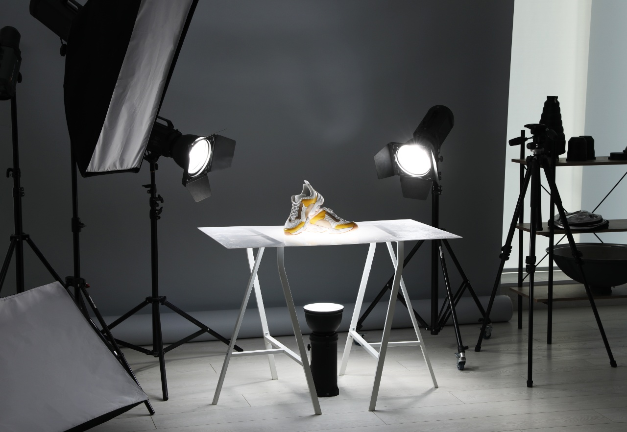 Product shoot for marketing arranged by Amazon seller in Japan