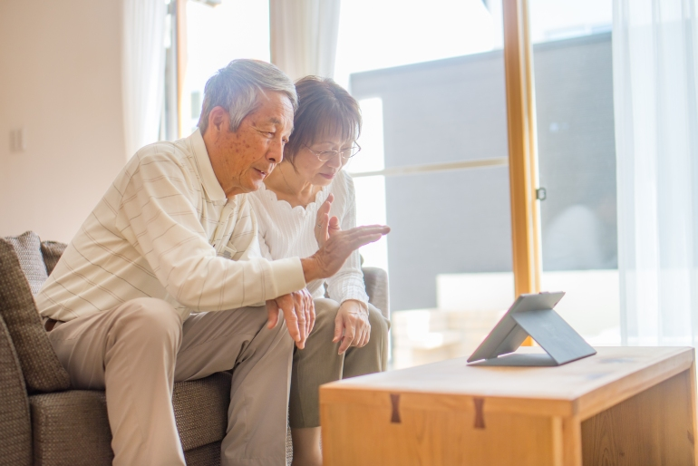 Targeting senior adult demographics with Japanese facebook ads